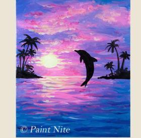 飞跃的海豚