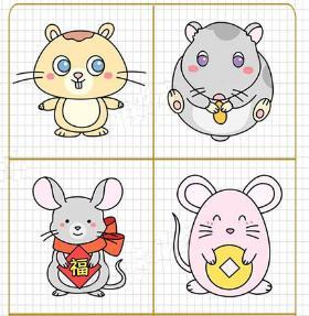2020年老鼠简笔画 老鼠是侠义的化身,三侠五义戏《五鼠闹东京》
