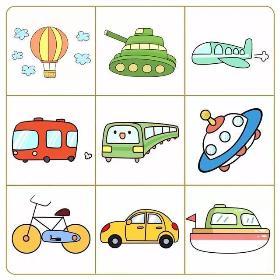 交通工具简笔画怎么画 2020年交通工具小素材大集合