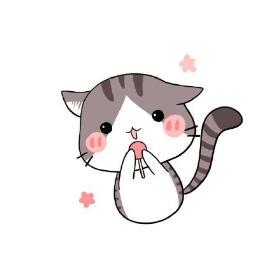 可爱小猫简笔画