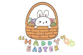 2020年复活节简笔画 Happy Easter Day