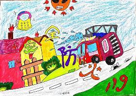 适合低年级的消防安全手抄报图片 四川西昌大火,19名消防员牺牲