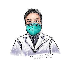 李文亮医生简笔画 李文亮是一名既平凡又伟大的医生