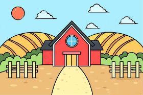 漂亮的房子简笔画怎么画