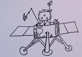 嫦娥五号简笔画