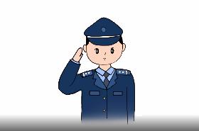 警察简笔画