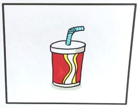 2021一杯可乐简笔画