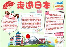 2021年日本纳豆节手抄报