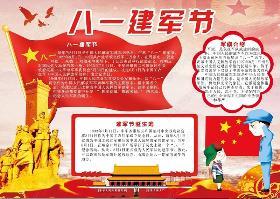 中国军队手抄报